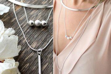 С чем носить серебряную цепочку