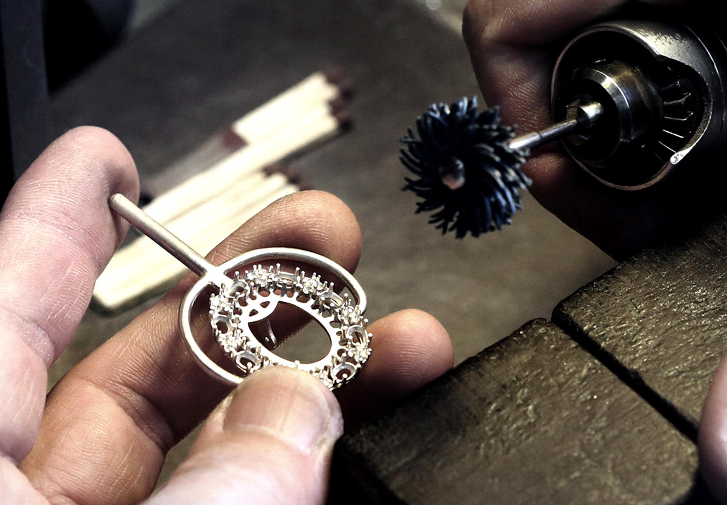 Заготовительный процесс ювелирного завода